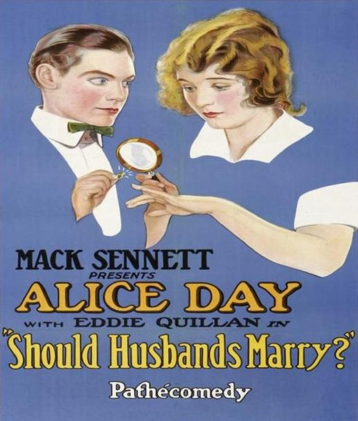 Alice-Day-and-Eddie-Quillan-in-Should-Husbands-Marry-1926-poster