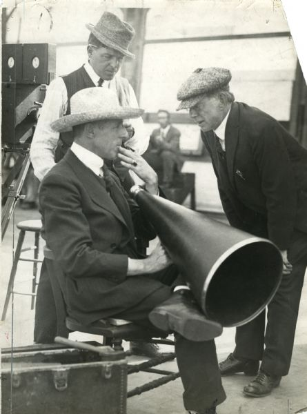 Billy-Bitzer-cinematographer-and-D-W-Griffith-director-and-Frank-E-Woods