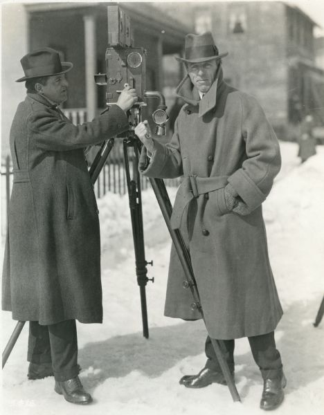 Billy-Bitzer-cinematographer-and-D-W-Griffith-director