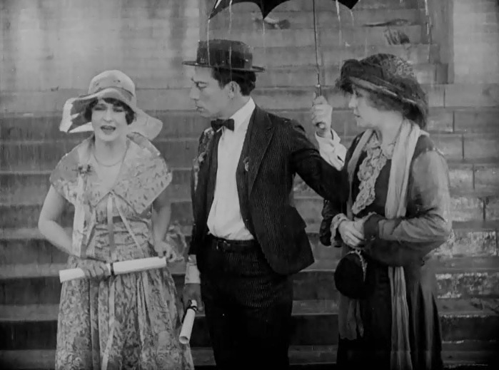 Anne-Cornwall-and-Buster-Keaton-and-Florence-Turner-in-College-1927-14