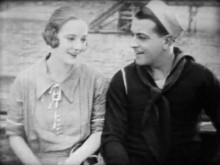 Richard Barthelmess And Dorothy Mackaill In Shore Leave Director John S Robertson 1925 01jr