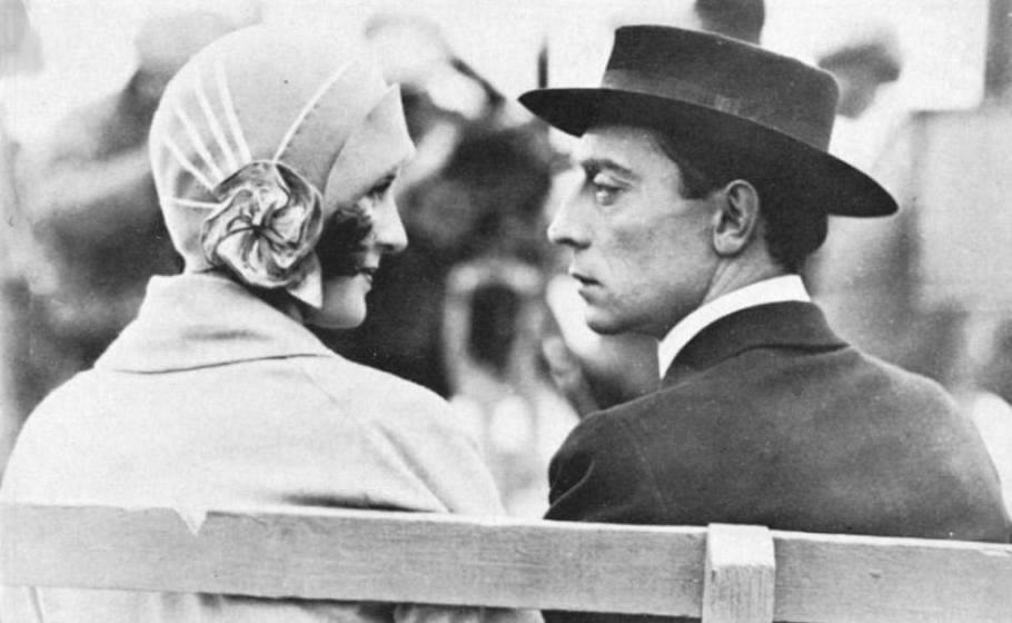 Marceline-Day-and-Buster-Keaton-on-the-set-of-The-Cameraman-eyes-speak-better-than-words-2