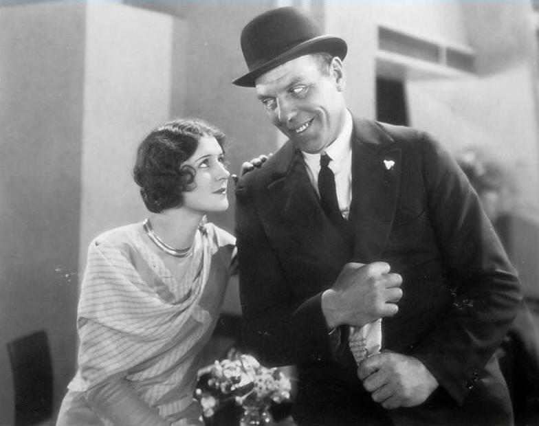 Marceline-Day-and-Karl-Dane-in-Detectives-1928