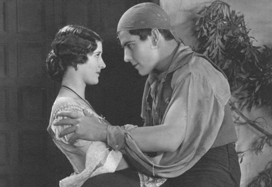 Marceline-Day-and-Ramon-Novarro-in-The-Road-to-Romance-1927-director-john-robertson-8