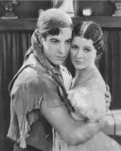 Marceline-Day-and-Ramon-Novarro-in-The-Road-to-Romance-1927-director-john-robertson