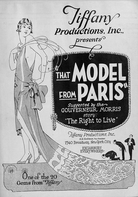 Marceline-Day-in-That-Model-from-Paris-1926-poster