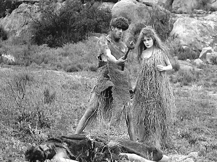 Robert-Harron-and-Mae-Marsh-in-Mans-Genesis-1912-director-DW-Griffith-cinematographer-Billy-Bitzer-23