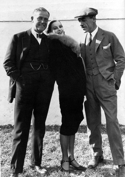 Three-luminaries-of-Swedish-cinema-in-Hollywood-Victor-Seastrom-and-Greta-Garbo-and-Mauritz-Stiller