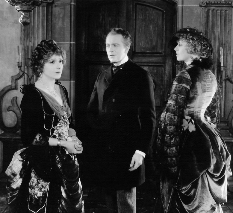 Norma Talmadge and Eugene Obrien and Gertrude Astor in Secrets 1924 255b