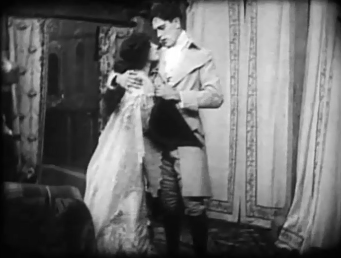Arthur V Johnson and Marion Leonard in Pippa Passes 1909 director DW Griffith 06
