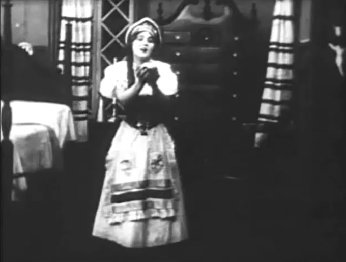 Florence Lawrence in Resurrection 1909 director DW Griffith cinematographer Billy Bitzer 2