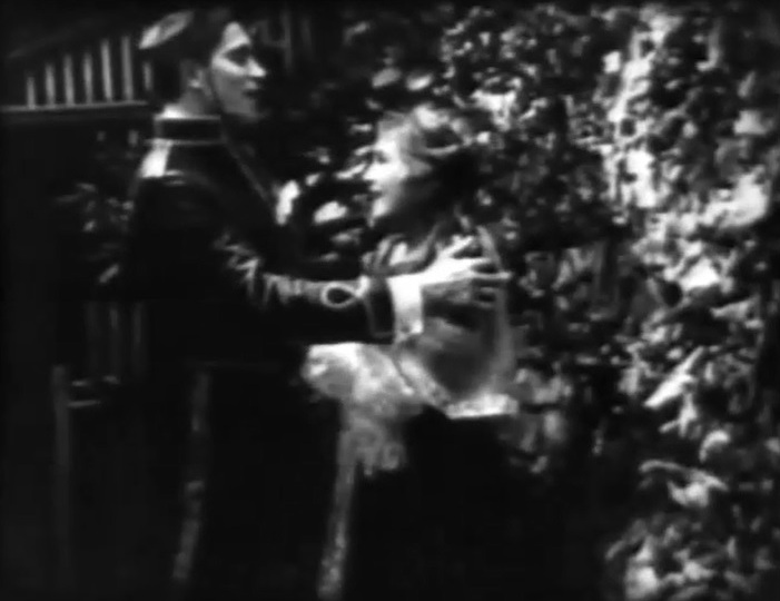 Arthur V Johnson and Mary Pickford in The Awakening 1909 03