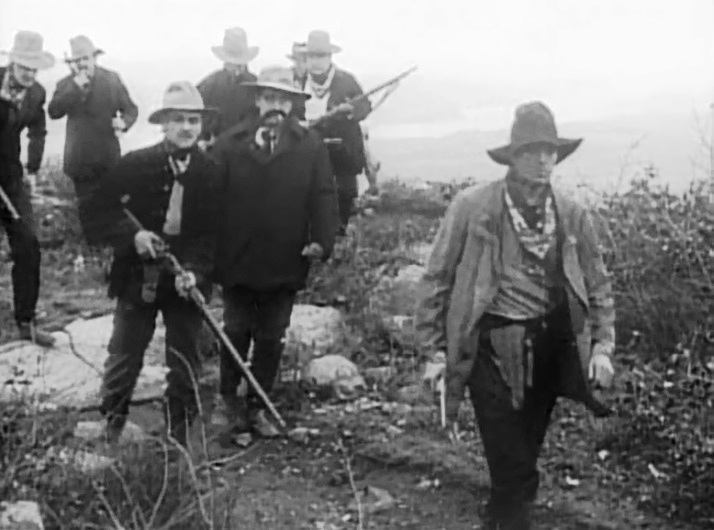 Arthur V Johnson in The Red Mans View 1909 director DW Griffith cinematographer Billy Bitzer 1