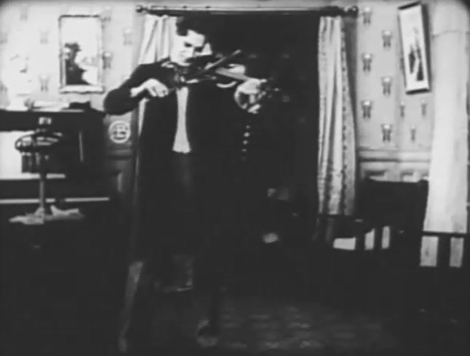 Arthur V Johnson in The Voice of the Violin 1909 director DW Griffith 3