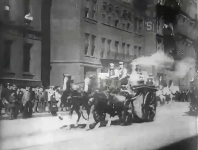 Cleveland Fire Department 1903