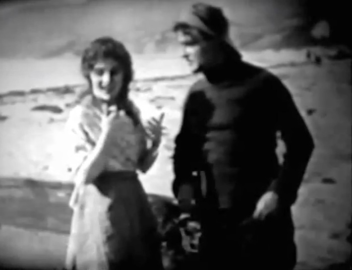 Linda Arvidson and Wilfred Lucas in Fisher Folks 1911 director DW Griffith cinematographer Billy Bitzer
