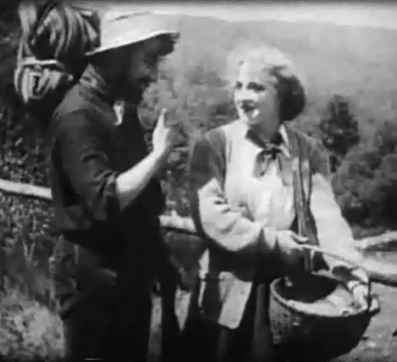 Frank Powell and Marion Leonard in Fools of Fate 1909 DW Griffith and Billy Bitzer 01