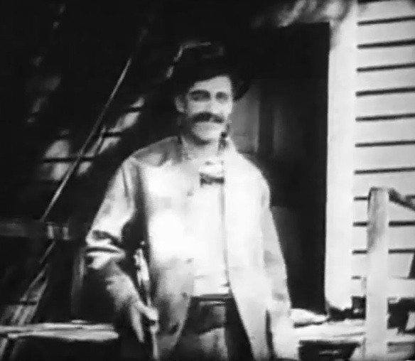 James Kirkwood in Fools of Fate 1909 DW Griffith and Billy Bitzer 02