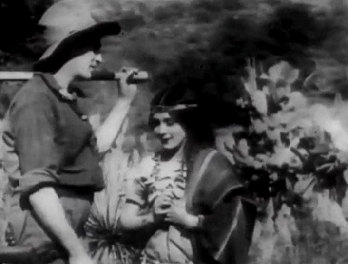 Mary Pickford and Alfred Paget in Iolas Promise 1912 08