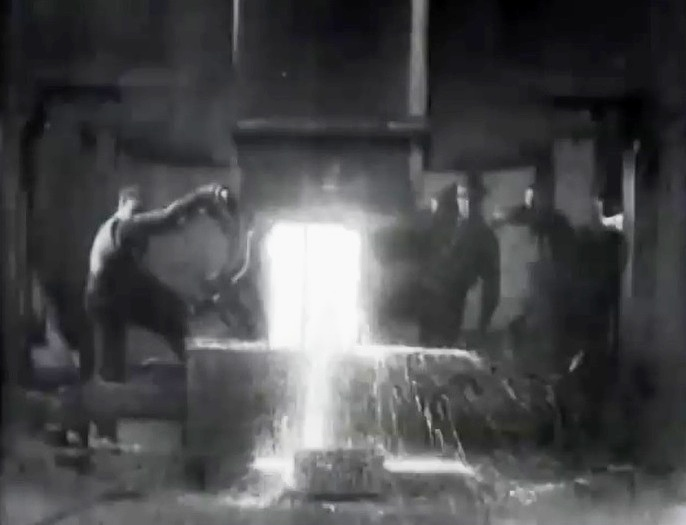 steam hammer westinghouse works 1904