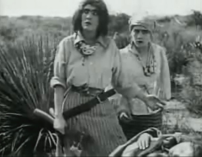 Mary Pickford and Claire McDowell in The Female of the Species 1912 director DW Griffith cinematographer Billy Bitzer 07