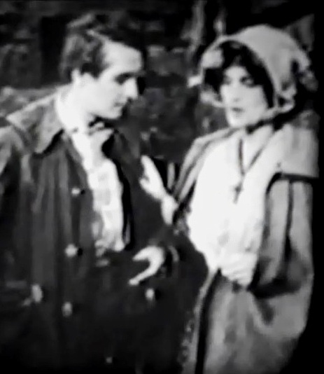 Henry Walthall and Claire McDowell in The God Within 1912 director DW Griffith cinematographer Billy Bitzer 00