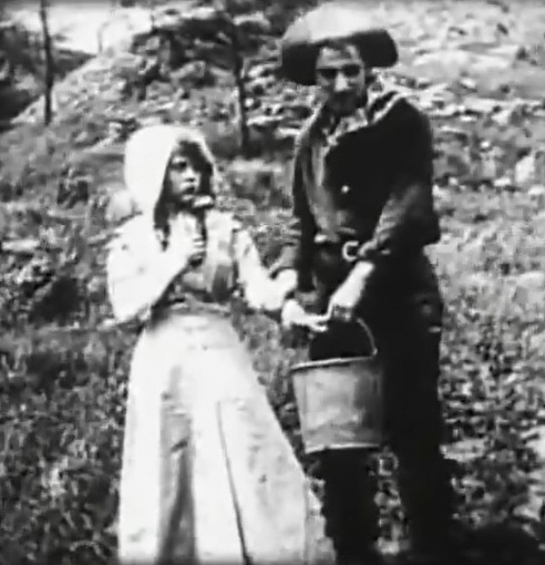 Mary Pickford and James Kirkwood in The Renunciation 1909 director DW Griffith 00