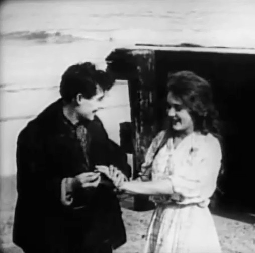 Mary Pickford and Henry Walthall in The Sorrows of the Unfaithful 1910 00