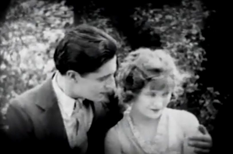 Ivor Novello and Mae Marsh in The White Rose 1920 17