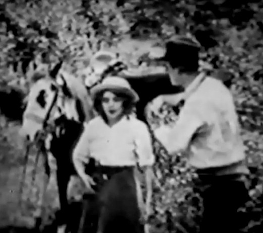 Mary Pickford in With the Enemys Help 1912 00