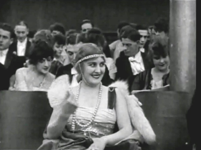 Edna Purviance in A Night in the Show 1915 7