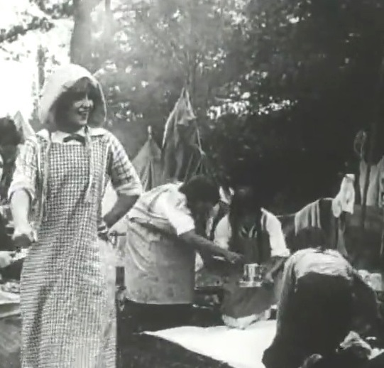 Florence La Badie in Petticoat Camp 1912 6a