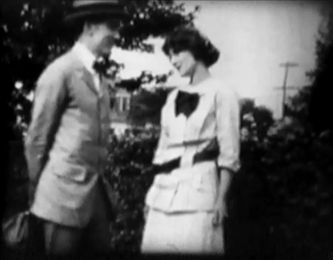 Florence Lawrence and Owen Moore in Flos Discipline 1912 00