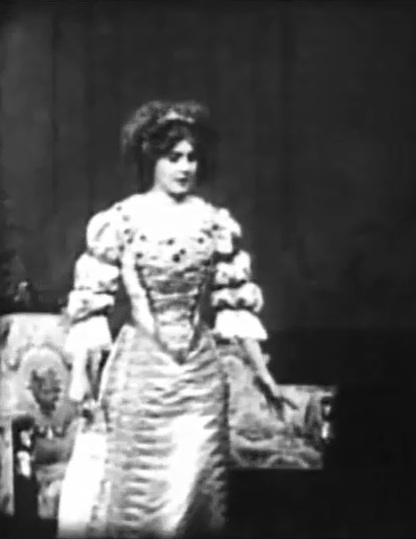 Florence Lawrence in The Cardinals Conspiracy 1909 00