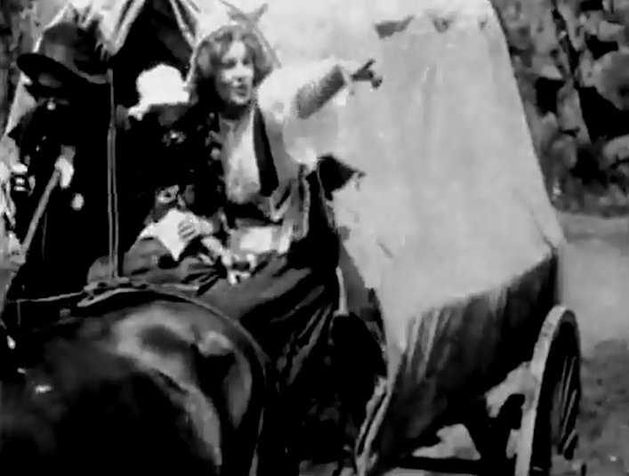 Florence Lawrence in The Zulus Heart 1908 director DW Griffith cinematographer Billy Bitzer 01