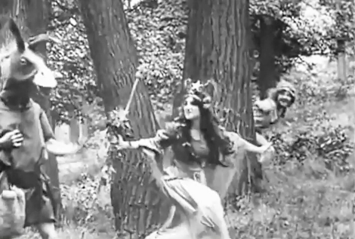 Florence Turner in A Midsummer Nights Dream 1909 04
