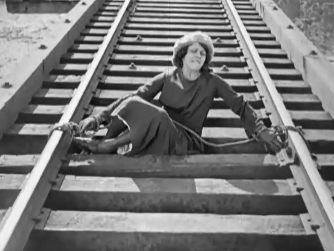 Helen Gibson in Ghost of the Canyon 1920 36