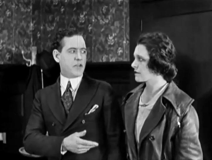 Leo Maloney and Helen Gibson in Winning the Franchise 1920 6