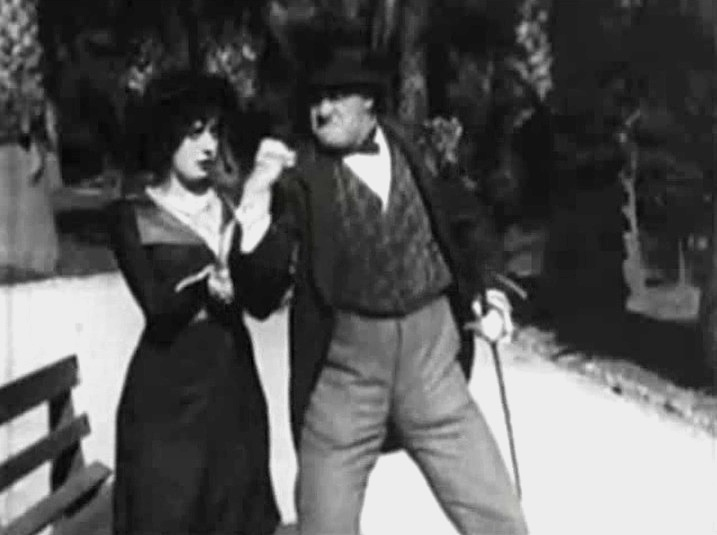 Mabel Normand and Ford Sterling in On His Wedding Day 1913 008