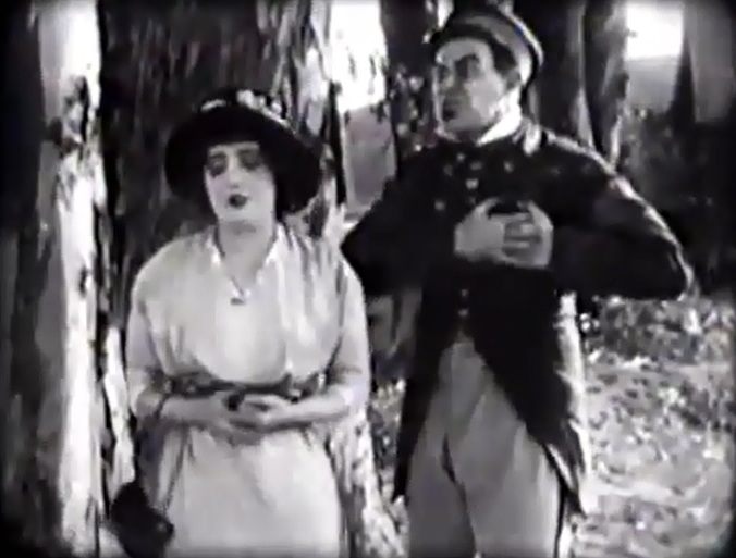 Mabel Normand and Ford Sterling in The Jazz Band Leader 1913 04