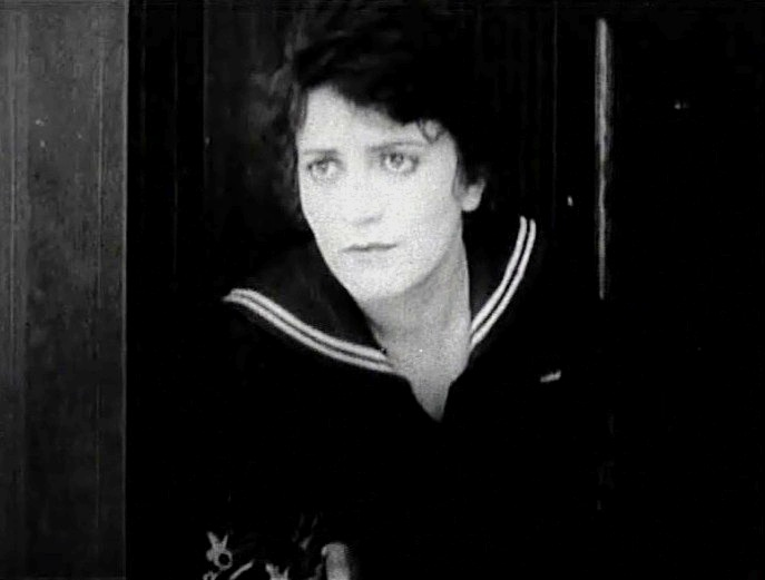 Helen Holmes in When Rogues Fall Out 1915 00