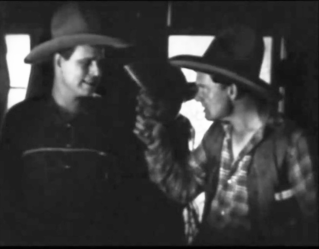 Jack Hoxie and Paul Hurst in Lightning Bryce ep14 1919 11