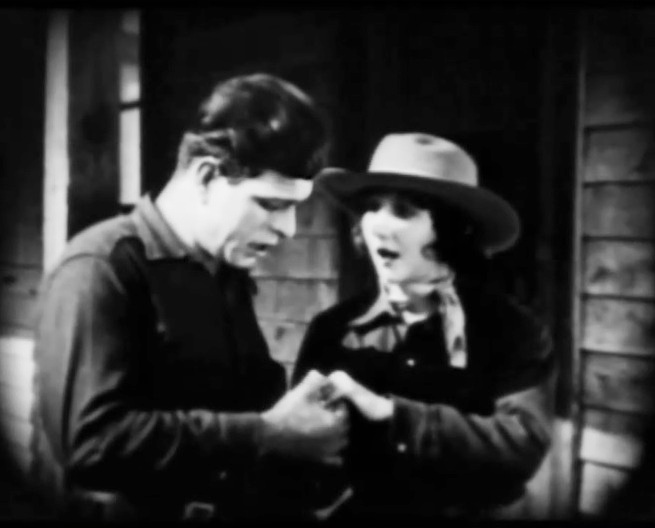 Jack Hoxie and Ann Little in Lightning Bryce ep15 1919 05