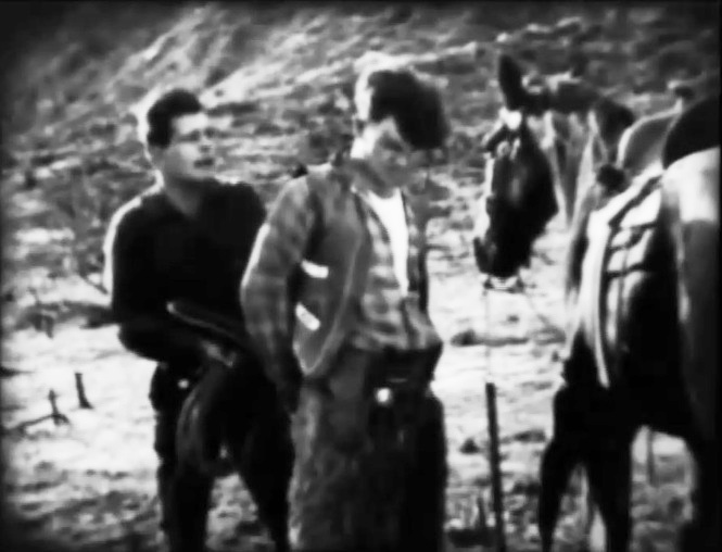 Jack Hoxie and Paul Hurst in Lightning Bryce ep15 1919 02