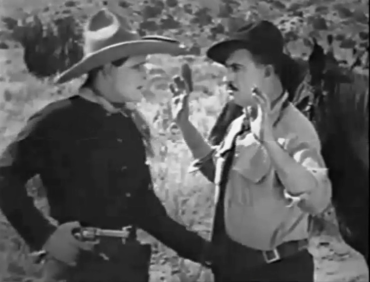 Jack Hoxie and Frank Rice in The Desert Rider 1923 11