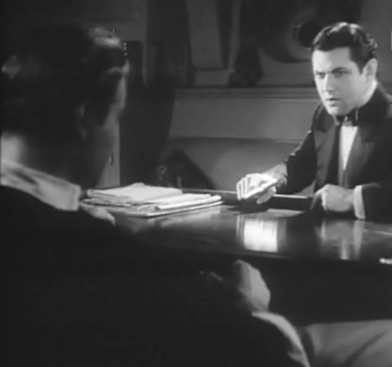 Nils Asther and Johnny Mack Brown in The Single Standard director John S Robertson 1929 18