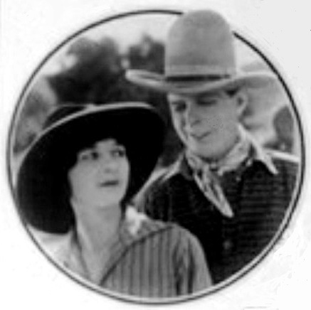 Marceline Day and Hoot Gibson in The Taming of the West 1925 2