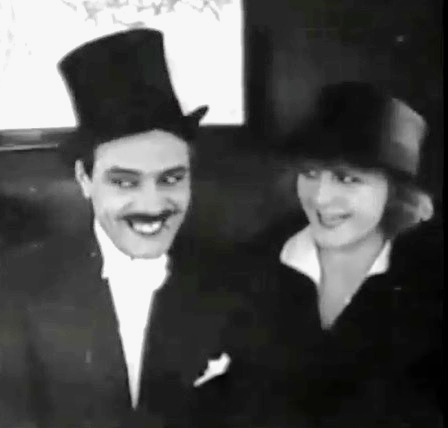 Martha Mansfield and Max Linder in Max in a Taxi 1917 22