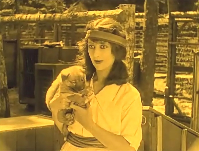 Nell Shipman in White Water 1924 6