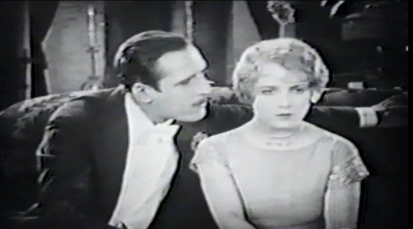 Pauline Garon and John Miljan in Flaming Waters 1925 15
